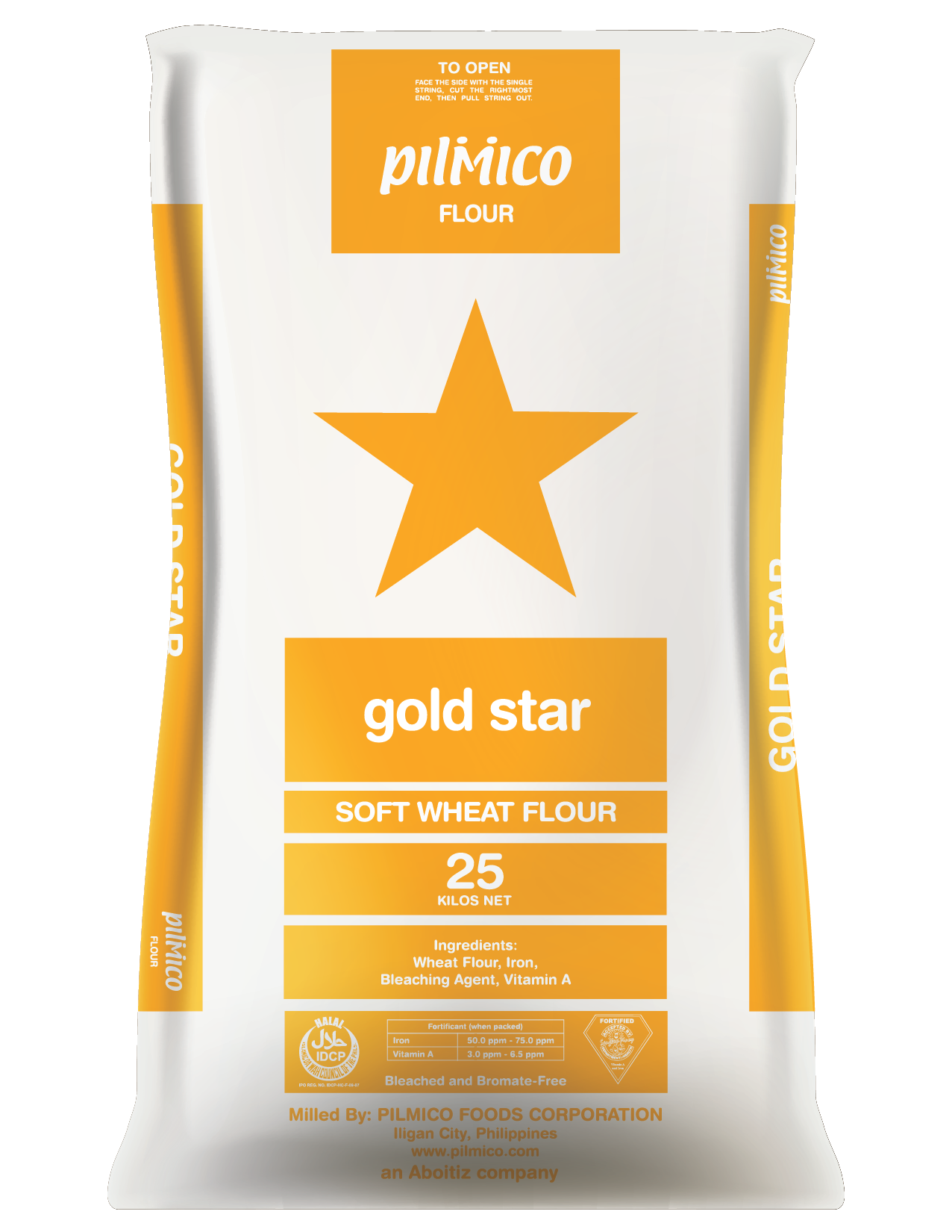 Pilmico Flour Sack 2018 - Gold Star Soft What Flour