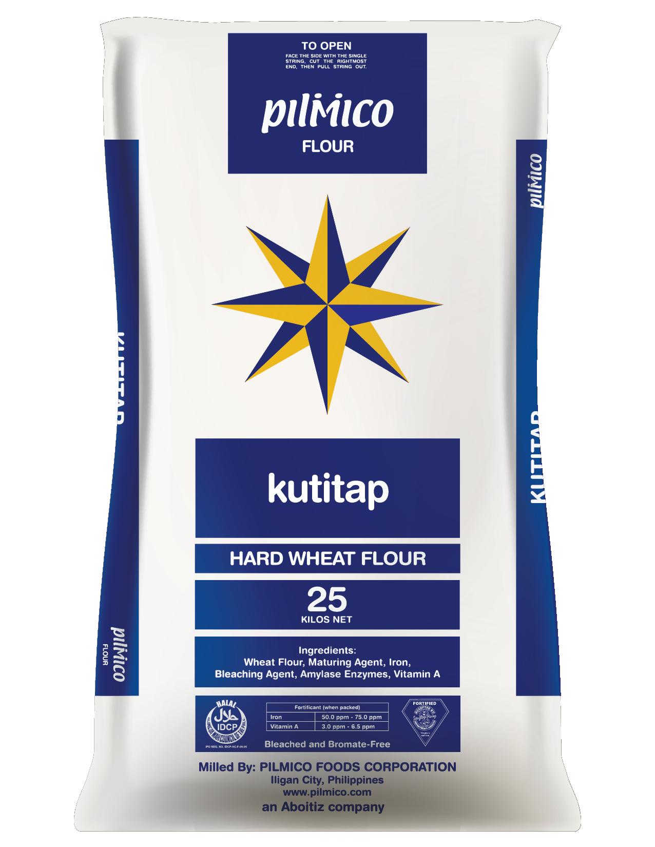 Pilmico Flour Sack 2018 - Kutitap Hard Wheat Flour