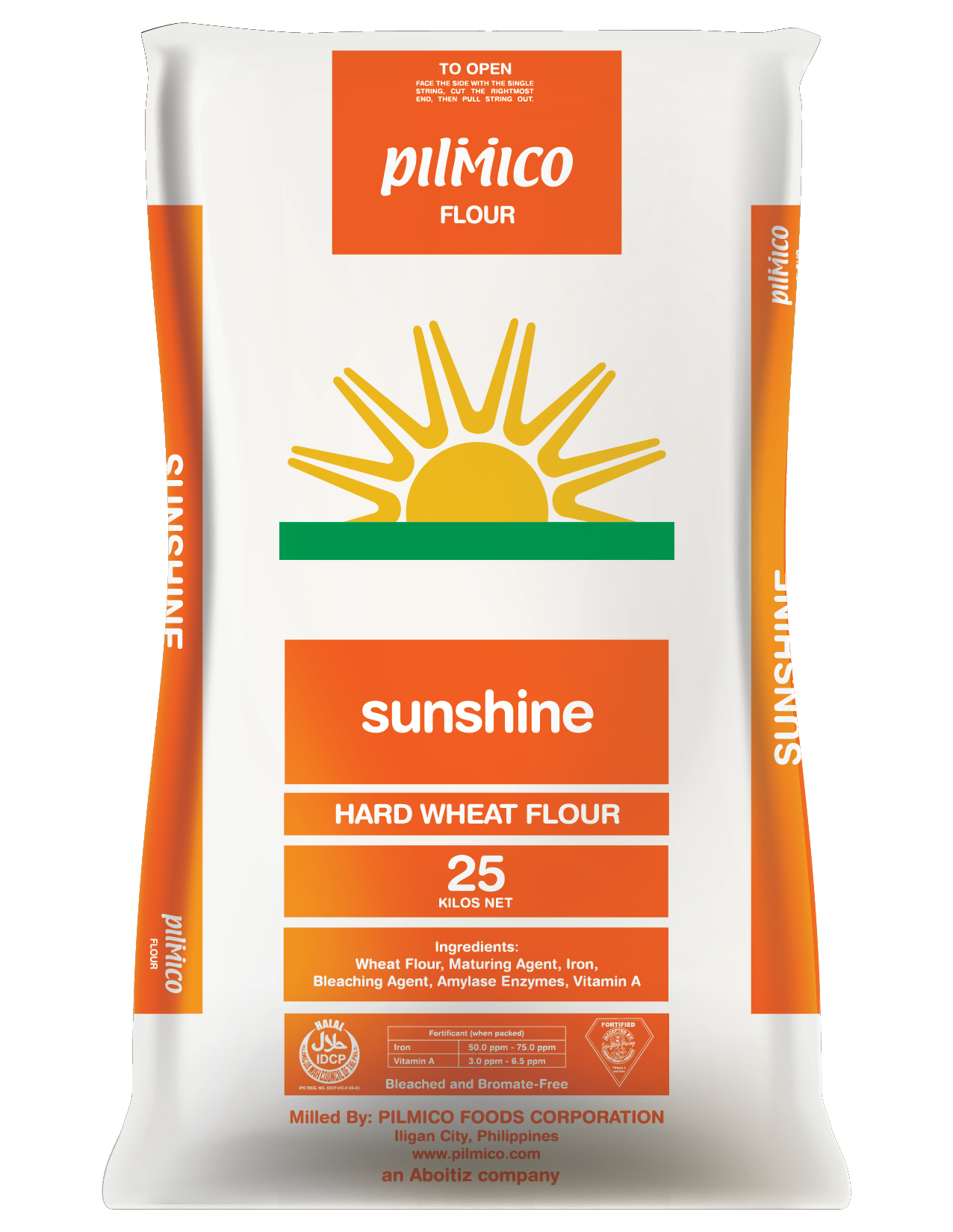 Pilmico Flour Sack 2018 - Sunshine Hard Wheat Flour 25kg