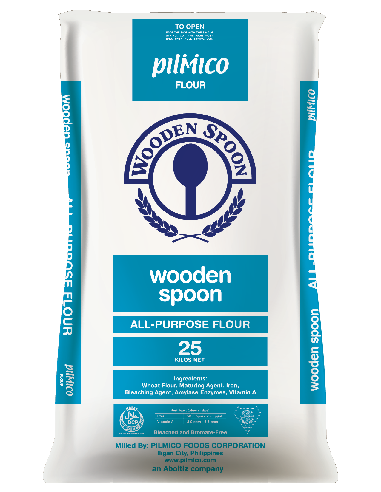 Pilmico Flour Sack 2018 - Wooden Spoon All Purpose Flour 25kg